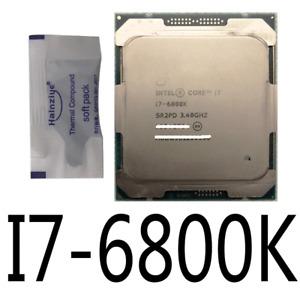 Intel i7-6800K 3.4 GHz Six-Core LGA2011 15M Cache up to 3.60 GHz CPU Processor