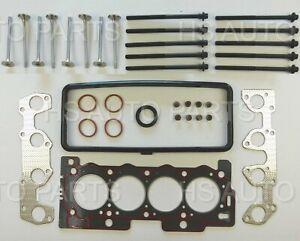 FOR PEUGEOT 206 207 307 BERLINGO 1.4 8V HEAD GASKET SET + HEAD BOLTS + 8 VALVES