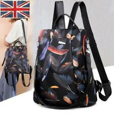 Women Backpacks Travel Anti-Theft Rucksack Backpack Tote School Shoulder Bag UK