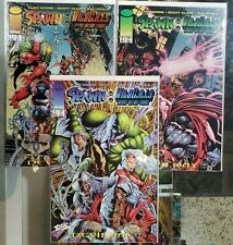 Spawn Wildcats #1 2 3 (of 4) - Alan Moore - Devil Day Vf+ 1996 @