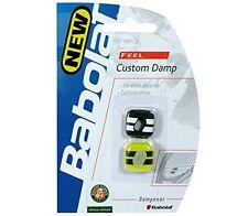 Babolat Custom Damp Tennis Dampener-Black/Yellow