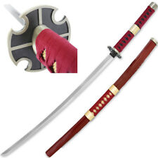 Sandai Kitetsu FOAM One Piece Anime Sword Roronoa Zoro Burgundy Cursed Katana