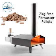 Uuni 3 - Portable Wood-Fired Pizza Oven + Free 2kg Pitmaster Pellets