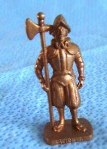 Kinder Surprise Metal figure - Swiss Guard K96n78 - 3cm