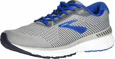 Brooks Men's Adrenaline GTS 20 Running Shoe, Grey/Blue, 7 4E(XW) US