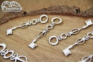 Scrapiniec Decorative Chipboards Keys