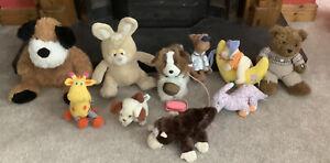 Cuddly Soft Toy Teddy Bears Baby Toys Bulk Lot Of 10