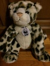 "Wwf 15"" World Wildlife Fund Build a Bear Leopard Plush Stuffed Animal Toy - 2006"