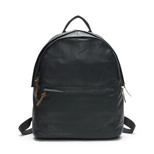 Club Monaco Black Chance Leather Backpack for men