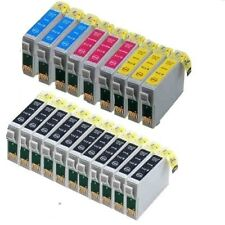 20x für Epson Stylus SX218 SX100 SX200 DX4400 DX4050 DX7400 DX7450 Tinte Patrone