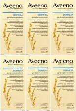 Aveeno - Confezione da 6 - Dermexa Emolliente Bagnoschiuma 300ml