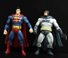lot 2 Batman The Dark Knight Returns Dc Direct Action Figures superman batman
