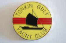 US USA Tonkin Gulf Yacht Club Vietnam Military Hat Lapel Pin