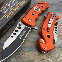 Tac Force Spring Assisted Emergency EMT EMS Rescue Handy Medical Pocket Knife