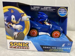 NKOK Sonic The Hedgehog All Stars Racing Pull Back Action (D3)