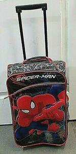 KIDS ROLLING BACKPACK SPIDERMAN WHEELED SCHOOL BAG FOR BOYS/GIRLS
