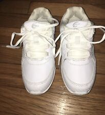 Chasse GIRL White Cheer Cheerleading Shoes Sneaker Youth Size 3