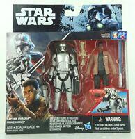 "Star Wars Finn (Jakku) vs. Captain Phasma 3.75"" Figure 2 Pack Rogue One Toy Gift"
