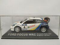 1/43 FORD FOCUS WRC MARTIN 2003 ACROPOLIS RALLY IXO RALLYE ESCALA DIECAST SCALE