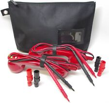 Loop Check Phone Set Electrician Continuity Tester Cable Tracer Te001 Red