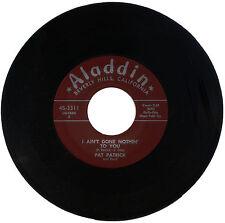 "Pat Patrick y banda ""yo no hecho nada a ti"" R&B! escucha!"