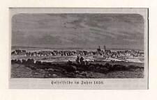 Hasselfelde - Holzstich aus Görges 1881
