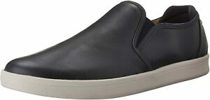 Mark Nason by Skechers Los Angeles SILWOOD Fashion Navy Leather Shoe Loafer