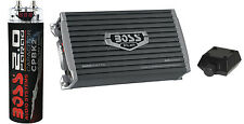 Boss AR3000D 3000W MONOBLOCK D Car Amplifier Amp+Remote+2 Farad Capacitor Cap