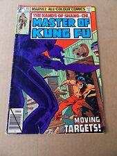 Master Of  Kung Fu  78 .   Marvel 1979 -  FN - minus