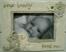 """Some Bunny Loves Me Baby 4"""" x 6"""" Photo Picture Frame"""