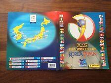 Korea Japón 2002 World Cup WM WC 02 Panini Sticker Álbum Completo
