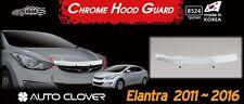 Bonnet Hood Guard Garnish Deflector Chrome Trim for Hyundai ELANTRA 2011 ~ 2013