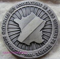 MED7534 - MEDAILLE FED. NATIONALE DES ASSOCIATIONS SOUS-OFFICIERS DE RESERVE