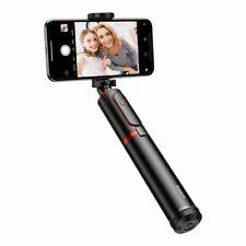 Baseus Selfie Stick, Teleskop Selfie Stick + Stativ Bluetooth-Fernbedienung rot