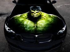 Vinyl Car Hood Full Color Graphics Decal The Incredible Hulk Sticker