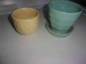 McCoy Pottery Flower Pots