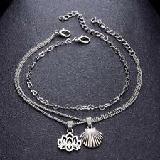Summer Beach Chain Jewelry Multilayer Anklet Pendant Bohemian Foot Ornaments Lp