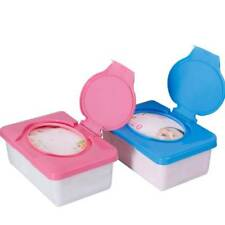 Home Plastic Wet Tissue Baby Wipes Box Case Holder Press Automatic Pop-up Design
