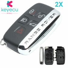 2*Smart Remote Key Shell 5 Button for LandRover Range Rover Sport Evoque LR4 LR2