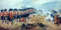 Battle of Balaclava 1881 CANVAS WALL ART PICTURE 20X30 INCHES