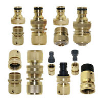 3/4 inch Brass Quick Connector Garden Hose Tap Adapter Joint Pipe Fittings