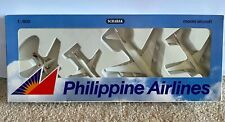 Very Rare Schabak 1:600 Philippine Airlines Model Aircraft 747 A300 737-300 F-50
