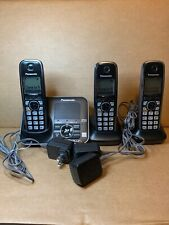 Panasonic KX-TG7621 Cordless Telephone System 6.0 Bluetooth Link 3 Handsets