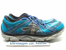 Men's Brooks Pure Flow Atomic Blue Olympic Blue Silver Running Shoes sz 11.5
