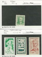 Brazil, Postage Stamp, #933 Lh, 937, 941, 948 Mint Nh, 1961-62, Jfz