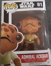 Amiral Ackbar Funko POP Bobble-Head Vinyl fi... Star Wars: the Force Réveille