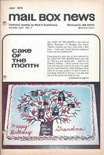 Vintage Cake Magazine Mail Box News July 1978 Maid of Scandinavia