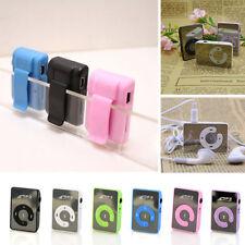 Fashion 8GB SD/TF Card Portable Mini Clip Mp3 Music Player USB Digital Randomly