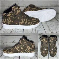 NEW Style HERREN Highcut KLETT Sportschuhe / Sneakers CAMOUFLAGE