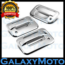 04-14 Ford F150 Overlay Chrome 2 Door Handle+no keypad+PSG KH+Tailgate Cover Kit